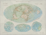 Airline Routes of the World Giclee Print by  The Vintage Collection