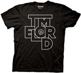 Doctor Who- Time Lord Abstract Type T-shirts
