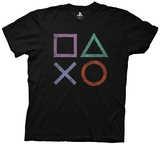 Playstation- Vintage Icons Shirts