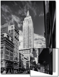 Empire State Building from Street Afternoon Art by Henri Silberman