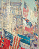 Allies Day, May 1917 Giclee Print by Frederick Childe Hassam
