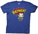 Big Bang Theory- Bazinga W/ Cute Sheldon T-Shirt