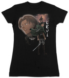 Juniors: Attack On Titan- Levi T-shirts