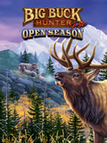 Big Buck Pro Open Season Cabinet Art with Logo Wall Decal by John Youssi