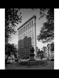 Flatiron Building Morning Side View Photographic Print by Henri Silberman