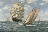 The Homecoming Giclee Print by Montague Dawson