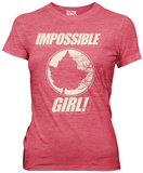 Women's: Doctor Who- Impossible Girl T-shirts