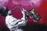 Shawn Mackey - Jazz Hot I - Giclee Baskı