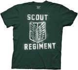 Attack On Titan- Splatter Paint Scout Regiment T-shirts