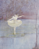 The Swan Dance Giclee Print by  Marygold