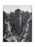 Flatiron Building from Above Early Evening Photographic Print by Henri Silberman