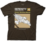 Firefly- Hayne'S Manual Srenity Ship Shirt
