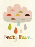 Pretty Rain Giclee Print by Sophie Ledesma