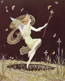 Fairy Girl Giclee Print by  Marygold