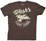 Firefly- Wash's Flight School T-shirts
