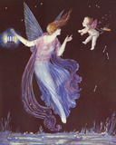 Will-O'-the Wisp Giclee Print by  Marygold
