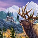 Big Buck Pro Open Season Cabinet Art Poster di John Youssi