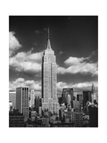 Empire State Afternoon Clouds Photographic Print by Henri Silberman