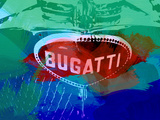 Bugatti Grill Plastic Sign by  NaxArt