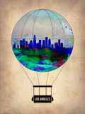 Los Angeles Air Balloon Plastic Sign by  NaxArt