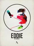 Eddie Watercolor Signe en plastique rigide par David Brodsky