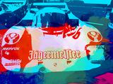 Porsche 956 Jagermeister Plastic Sign by  NaxArt