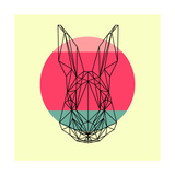 Rabbit and Sunset Posters by Lisa Kroll