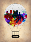 Phoenix Air Balloon 2 Plastic Sign by  NaxArt