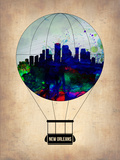 New Orleans Air Balloon Plastic Sign by  NaxArt