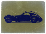 Bugatti 57 S Atlantic Plastic Sign by  NaxArt