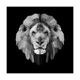 Lion Head Prints by Lisa Kroll