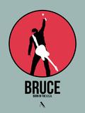 Bruce Signe en plastique rigide par David Brodsky