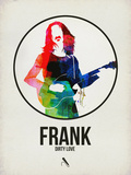 Frank Watercolor Plastic Sign by David Brodsky