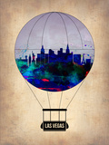 Las Vegas Air Balloon Plastic Sign by  NaxArt