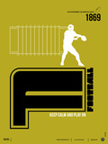 Football Poster Plastskilt av  NaxArt