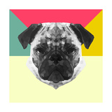 Party Pug Prints by Lisa Kroll