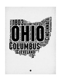 Ohio Word Cloud 2 Art by  NaxArt