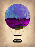 Amsterdam Air Balloon Plastic Sign by  NaxArt