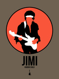 Jimi Plastic Sign by David Brodsky