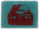 Alfa Romeo Plastic Sign by  NaxArt
