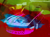 Datsun Plastic Sign by  NaxArt