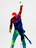 Bruce Watercolor Znaki plastikowe autor Lora Feldman