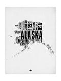 Alaska Word Cloud 2 Posters by  NaxArt