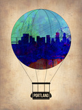Portland Air Balloon Plastic Sign by  NaxArt