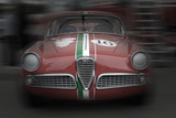Alfa Romeo Laguna Seca Plastic Sign by  NaxArt