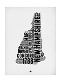 New Hampshire Word Cloud 2 Prints by  NaxArt