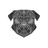Pug Head Mesh Prints by Lisa Kroll