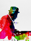 Thelonious Watercolor Plastic Sign by Lora Feldman