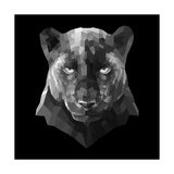 Black Panther Premium Giclee Print by Lisa Kroll