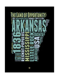 Arkansas Word Cloud 1 Art by  NaxArt